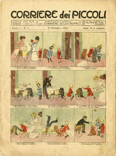 PRIMO-NUMEROCorriere-dei-Piccoli-del-dicembre-1908A_Notizie