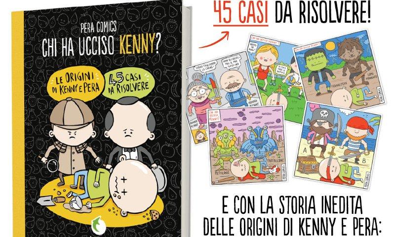 """Tunué pubblica """"Chi ha ucciso Kenny?"""" di Pera Comics"""