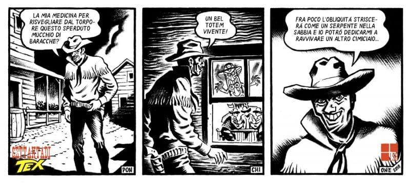 Senza di Tex: il Texobliquo di Sergio Ponchione_Omaggi