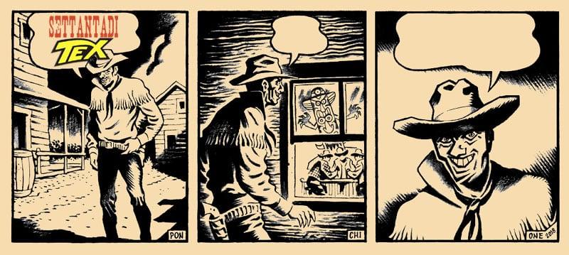 Senza di Tex: il Texobliquo di Sergio Ponchione