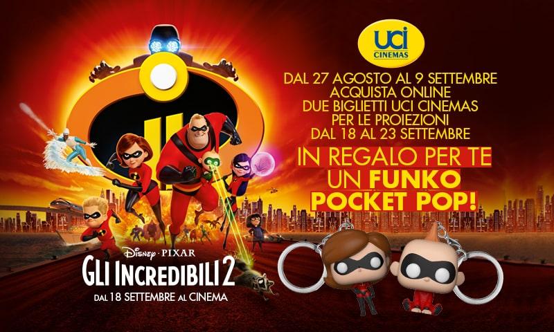 Vinci con UCI Cinemas e Gli Incredibili 2