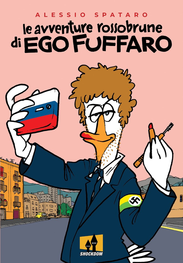 "Shockdom pubblica ""Le Avventure Rossobrune Di Ego Fuffaro"""