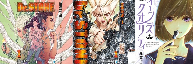 Dr. Stone e Queen's Quality: I nuovi manga Star Comics