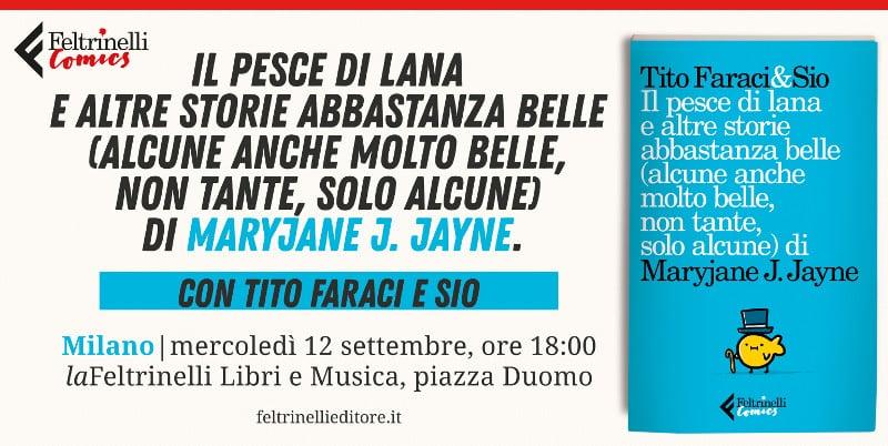Incontro a Milano con Tito Faraci e Sio per il loro nuovo libro_Notizie