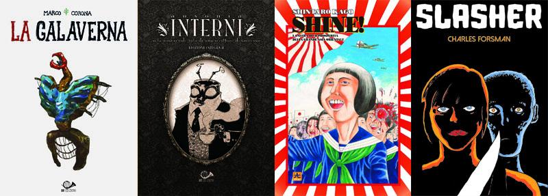 Le novità e gli ospiti di 001 Edizioni a Lucca Comics 2018