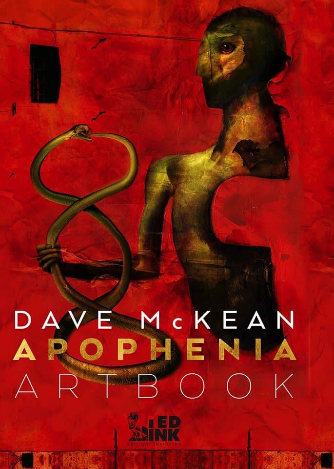Edizioni Inkiostro: iniziano le prevendite per l'artbook di Dave McKean_Notizie