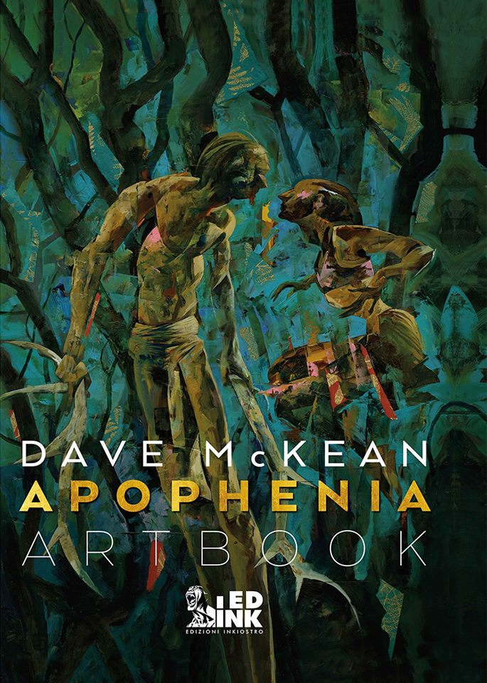 Edizioni Inkiostro: iniziano le prevendite per l'artbook di Dave McKean
