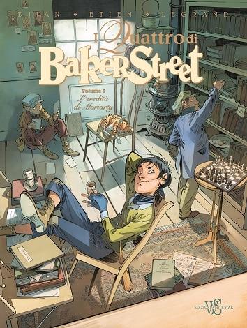 """Il quinto volume dei """"Quattro di Baker Street"""" per White Star Comics_Notizie"""