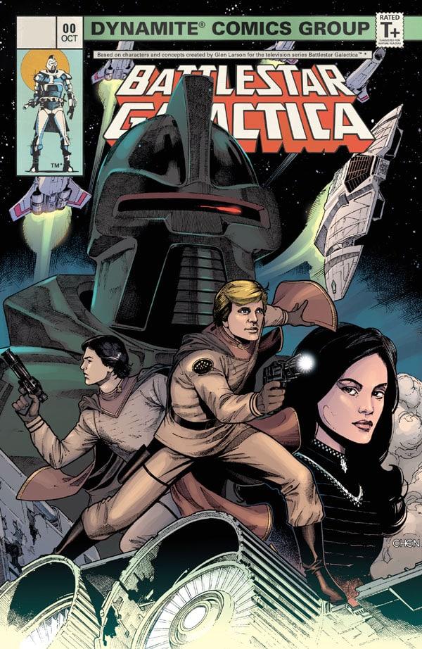 Battlestar Galactica - Classic 0