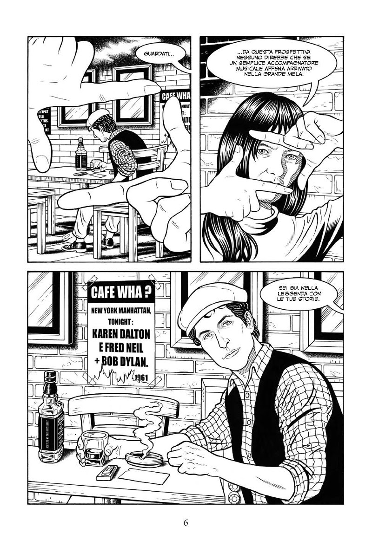 NPE pubblica un biopic a fumetti su Bob Dylan_Notizie
