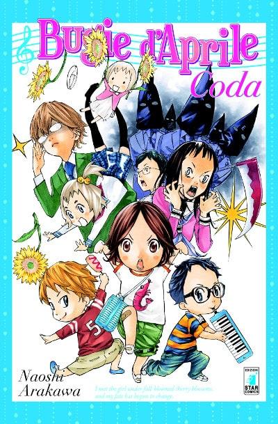 "Star Comics pubblica ""Coda"", prequel di ""Bugie d'aprile""_Notizie"