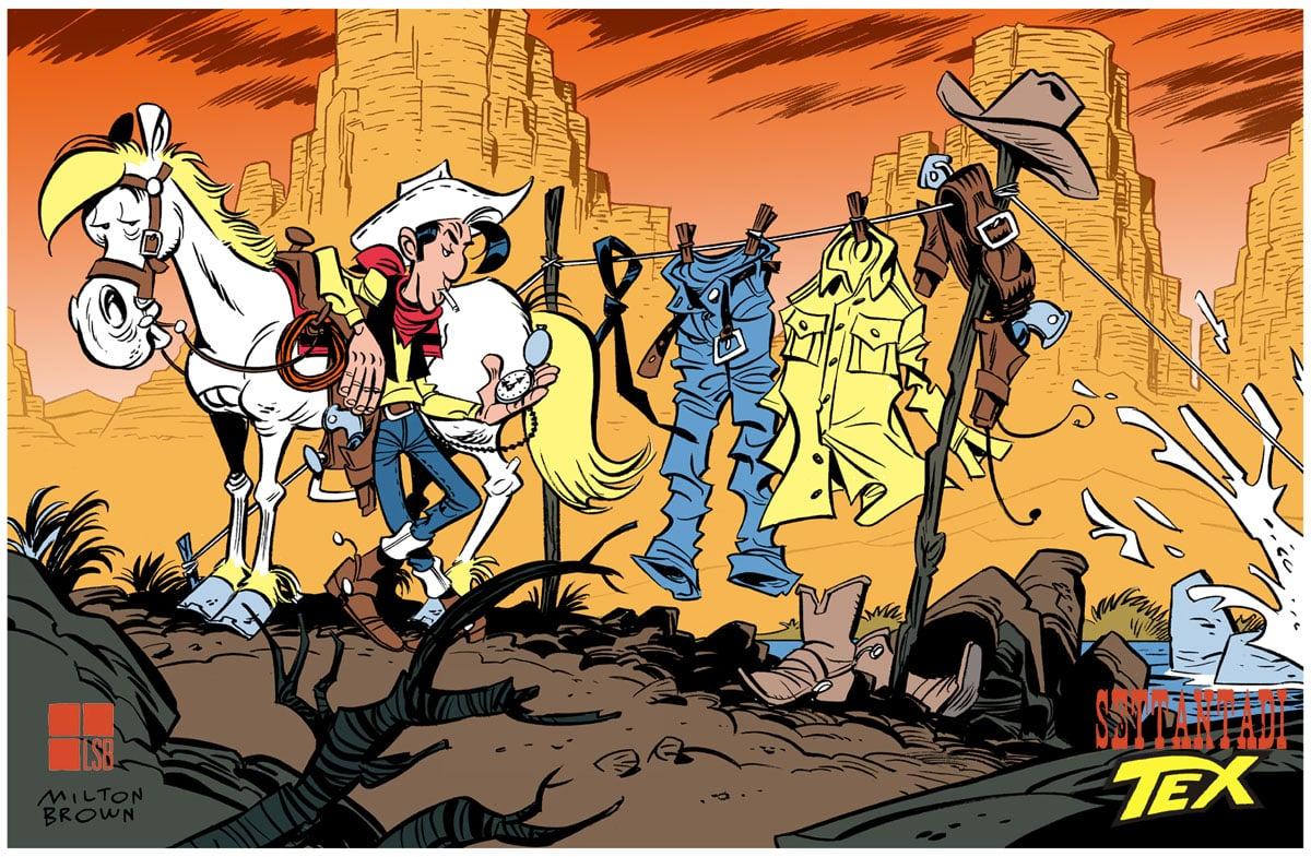 Senza di Tex: Lucky Tex II di Bruno Cannucciari_Omaggi