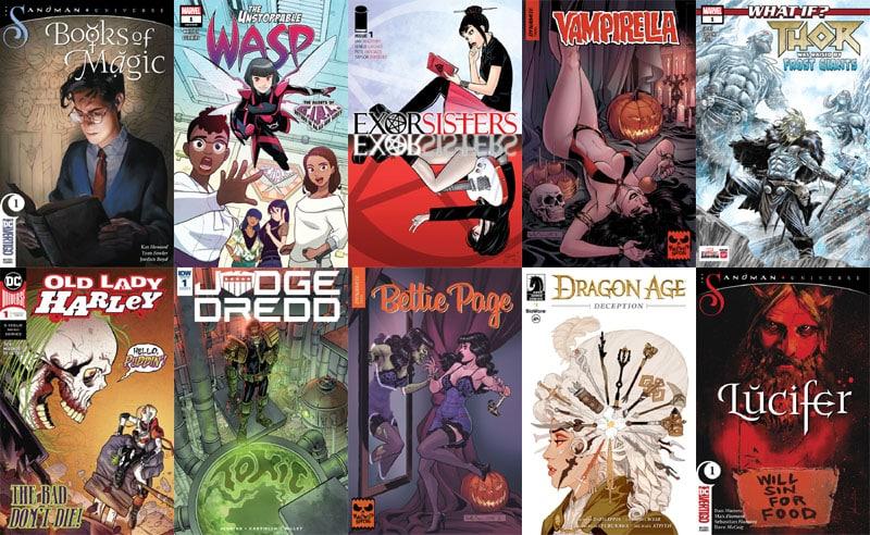 First Issue #34: arrivano Lucifer e The Books of Magic