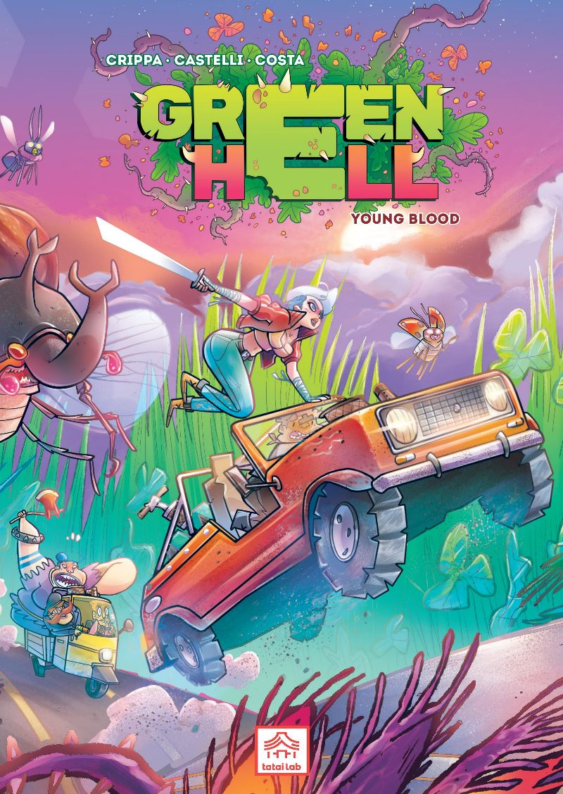 Green Hell copertina