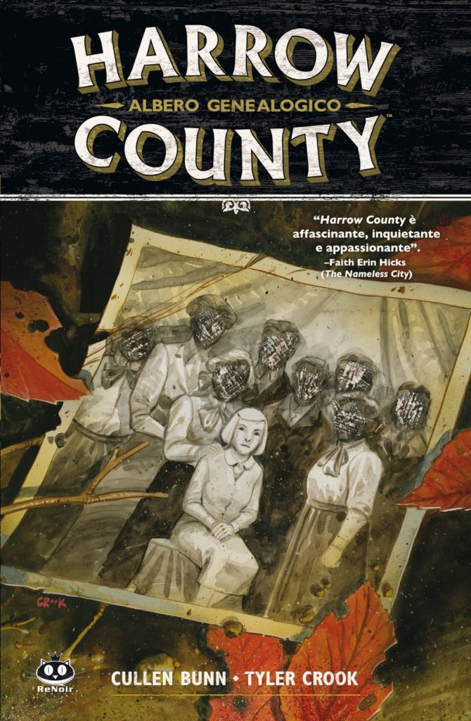 Harrow County #4: Albero genealogico (Bunn, Crook)_BreVisioni