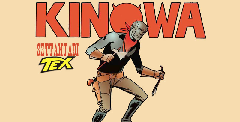 Senza di Tex: Kinowa & Tex di Onofrio Catacchio