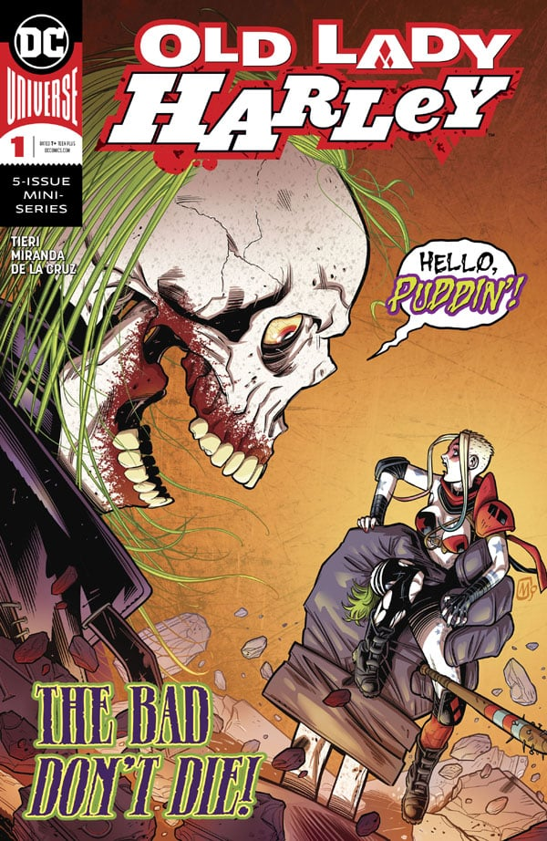 Old-Lady-Harley-1_First Issue