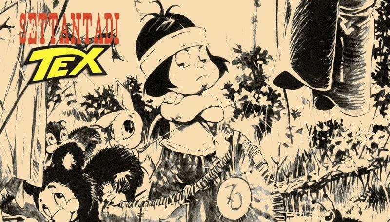 Senza di Tex: Little Hiawa-Tex di Lola Airaghi