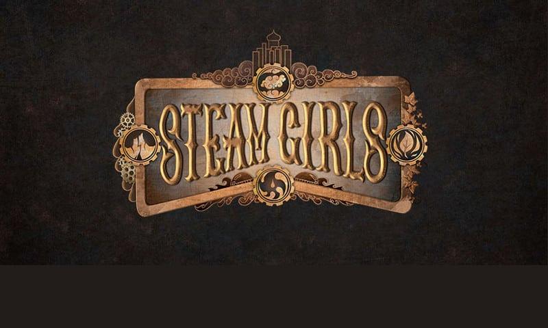 "Esordisce l'artbook ""Steamgirls"""