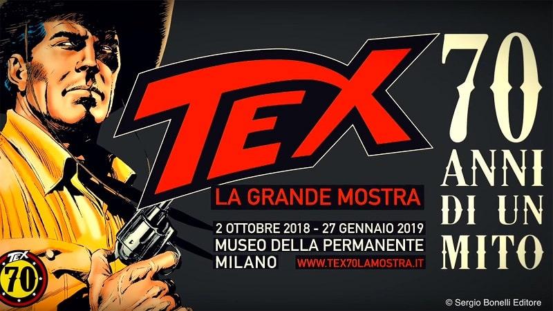 Tex: 70 anni di un mito in mostra alla Permanente di Milano
