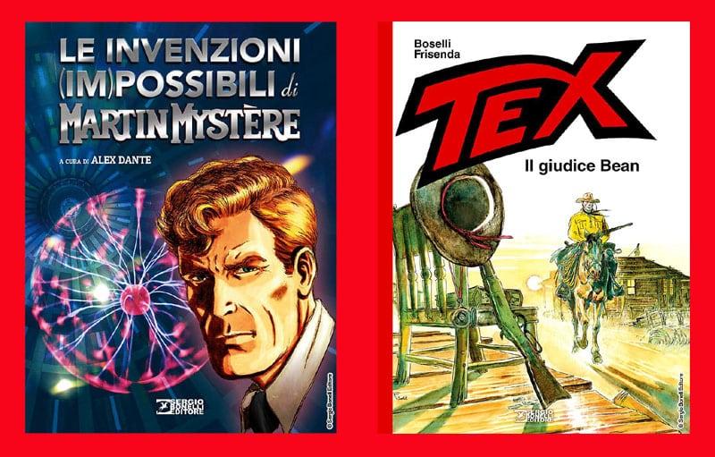 Due nuovi volumi dedicati a Martin Mystere e Tex in libreria per SBE