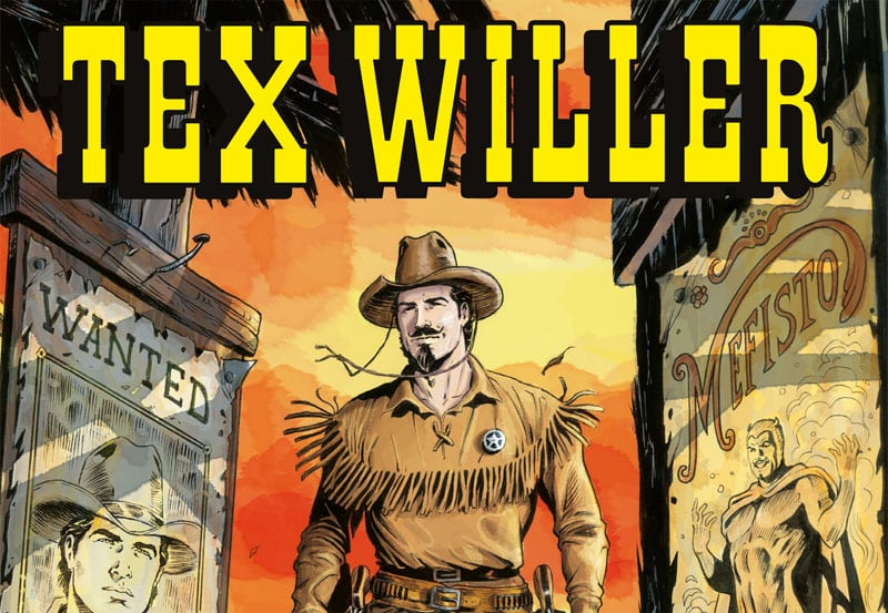 Tex Willer #1 arriva in edicola a novembre