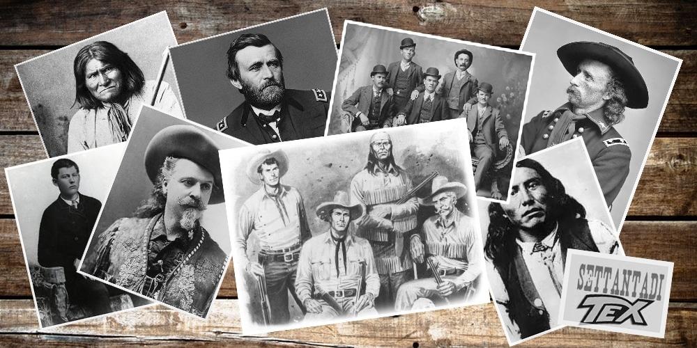 La storia di Tex e la Storia del West