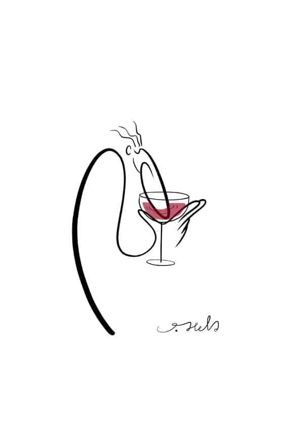 VINCOMICS - mostra JOSHUA HELD - I Nasoni e il vino