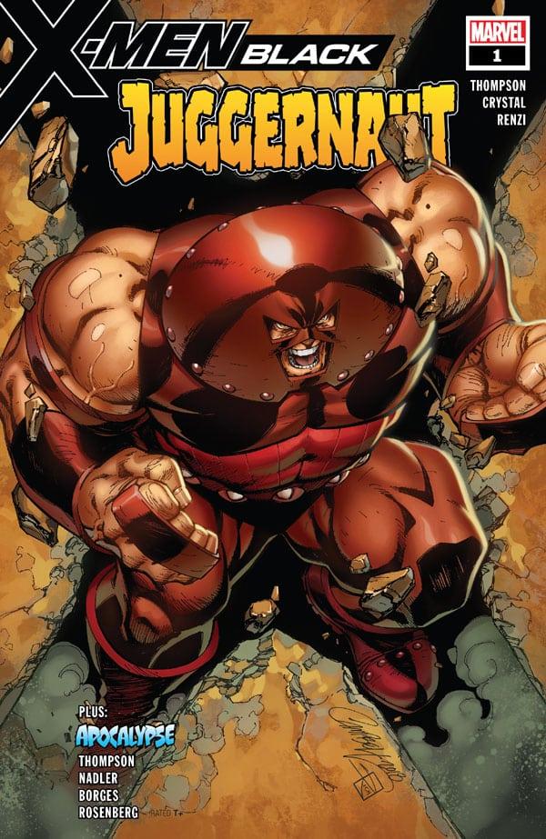 X-Men - Black - Juggernaut 1