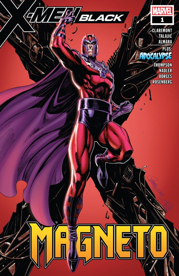 X-Men - Black - Magneto 1