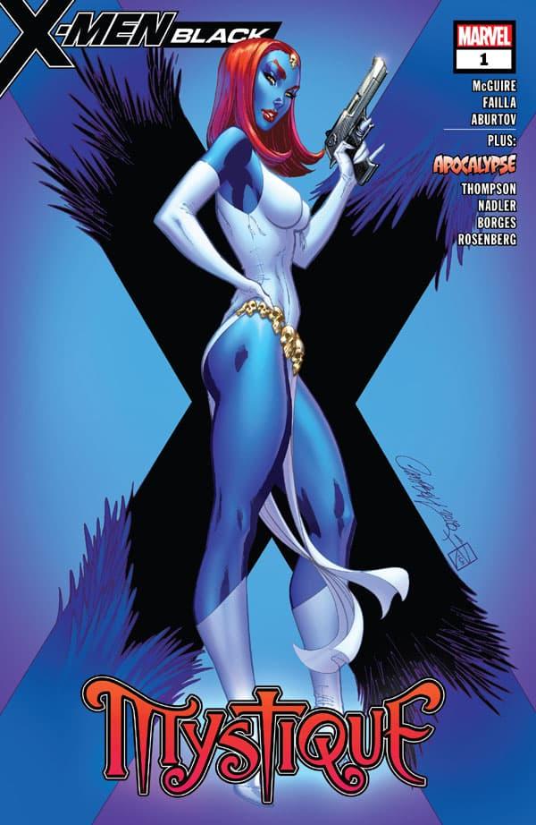X-Men - Black - Mystique 1