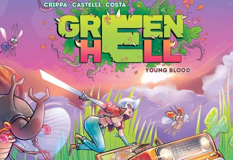 "Anteprima: ""Green Hell"" di Alex Crippa e Francesco Castelli da Tatai Lab"