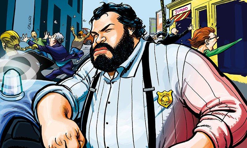L'Ispettore Buddha a Fumetti&Popcorn