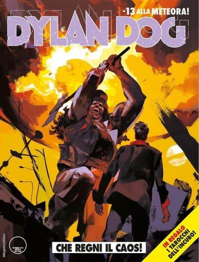Dylan Dog #387: inizia il ciclo della meteora