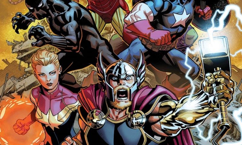 Avengers #1 (Aaron, McGuinness)