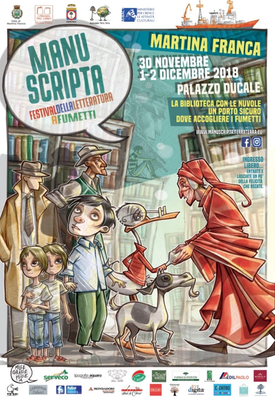 Torna Manuscripta il Festival della Letteratura a Fumetti