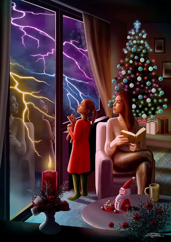 ChristmasWithTheDead_Illustrazione5