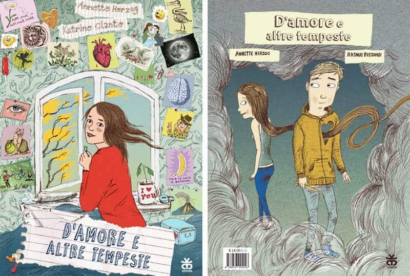 """Anteprima: """"D'amore e altre tempeste"""", due storie che si incontrano in una sola"""