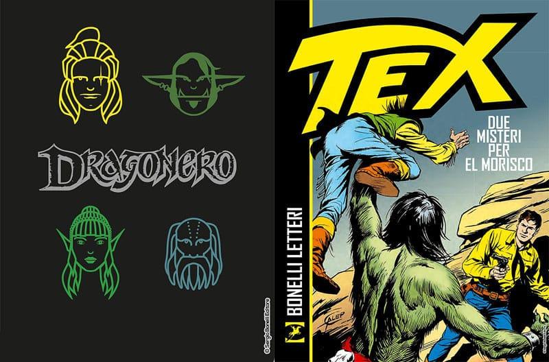 """Il Taccuino di Dragonero e """"Tex – Due misteri per El Morisco"""" in libreria"""