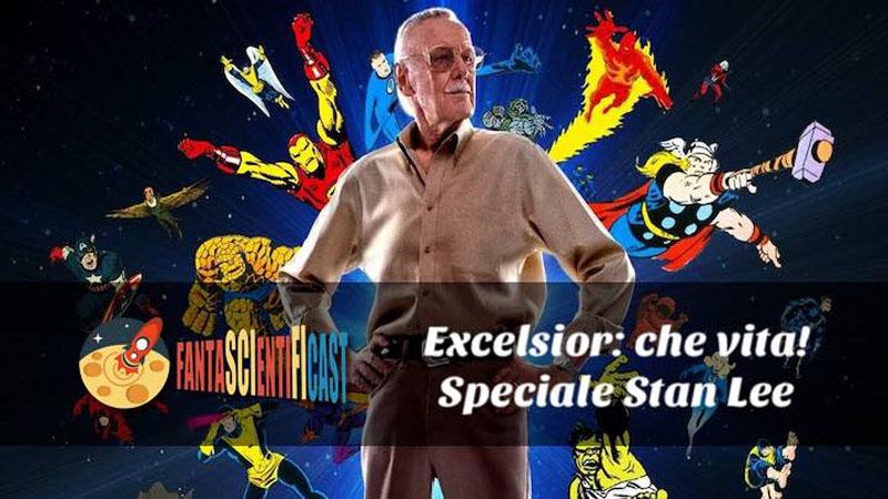 Fantascientificast omaggia Stan Lee
