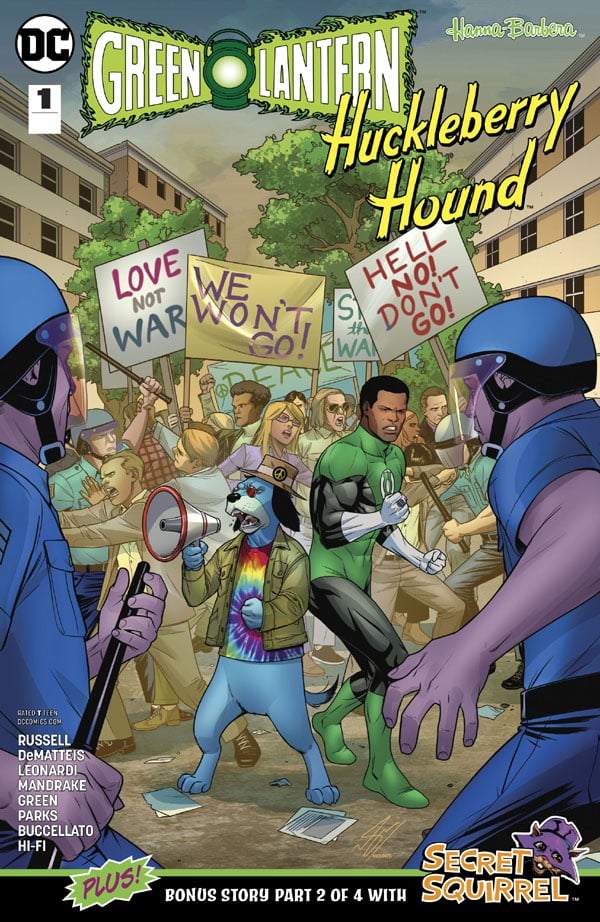 Green Lantern-Huckleberry Hound Special 1
