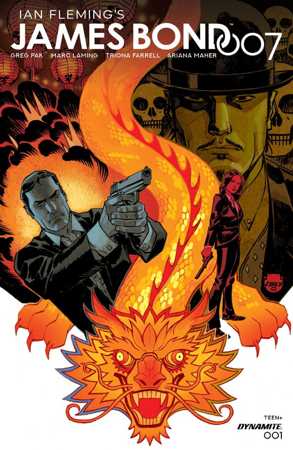 James-Bond-1_First Issue