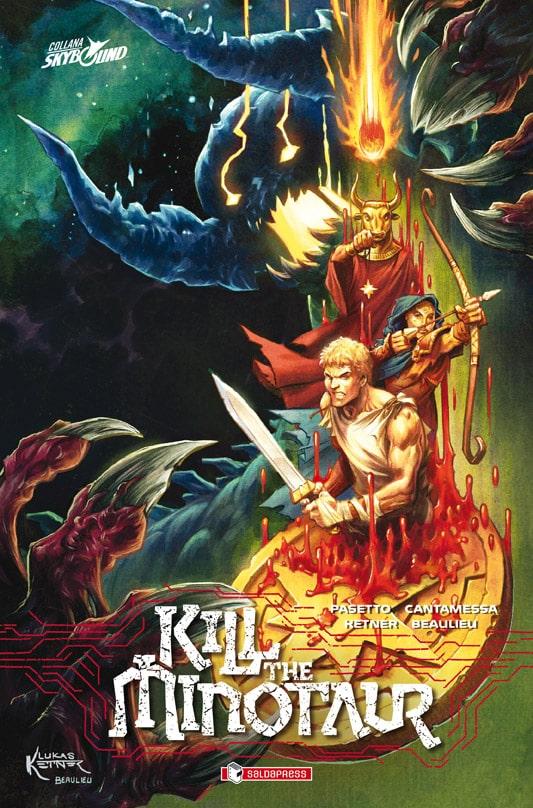 Kill the Minotaur, il graphic novel Skybound che rilegge il mito