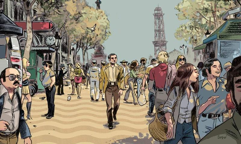 La similitudine letteraria e a fumetti di Pepe Carvalho