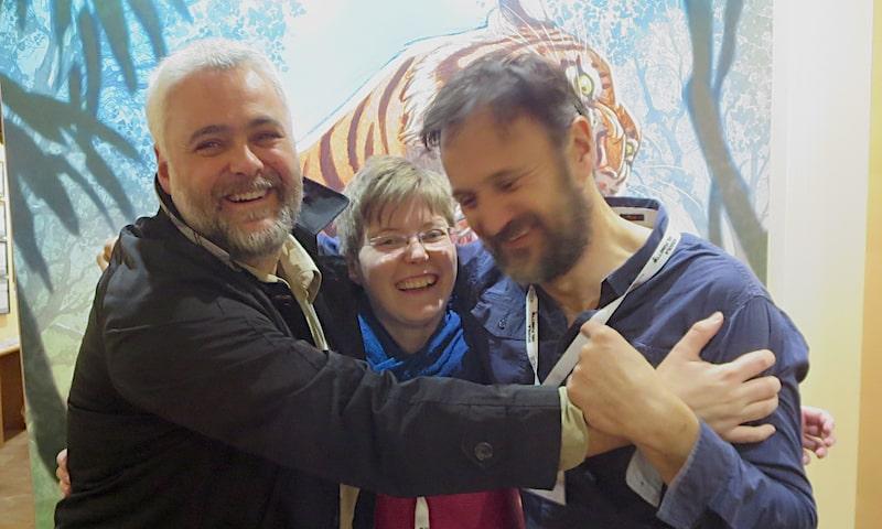 Intervista a(b)braccio a Frédéric Brrémaud e Federico Bertolucci