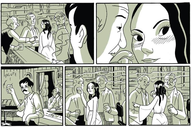 "Sammy Harkham, ""Blood of the Virgin"": un fumetto tra i B-Movie_Recensioni"