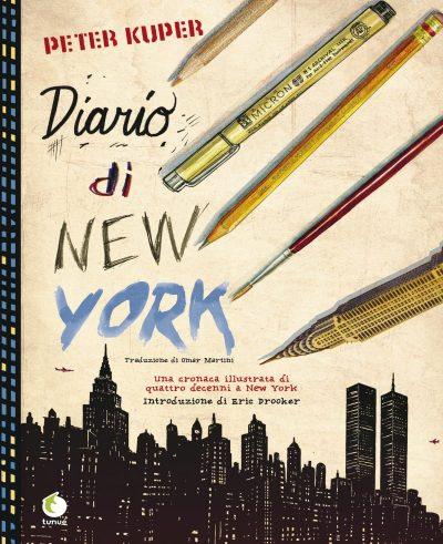 New York ritratta dall'intelligente occhio di Peter Kuper_Recensioni