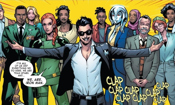 Tony Stark - Iron Man #1 (Slott, Schiti)_BreVisioni