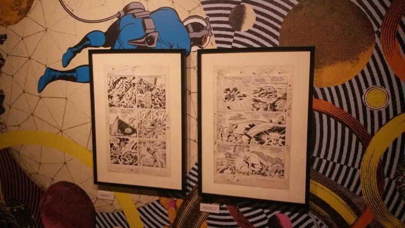 Jack Kirby: reportage dalla mostra di Bologna._Approfondimenti