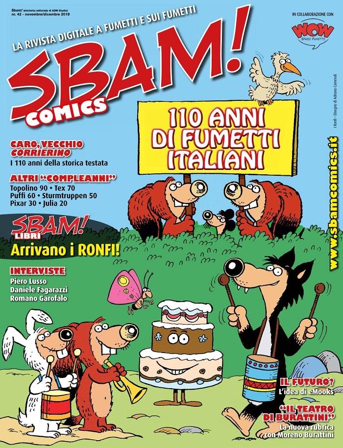E' uscito il numero 42 di SBAM! Comics